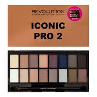 Makeup Revolution Salvation Palette 16 Zestaw cieni do powiek Iconic Pro 2 (16 kolorów) 16g