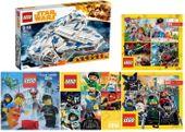 LEGO STAR WARS 75212 SOKÓŁ MILLENNIUM + 4 KATALOGI