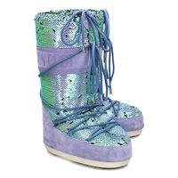 Moon Boot Classic Disco - Śniegowce Damskie - 14025200 003 - Fioletowy || Niebieski 35/38