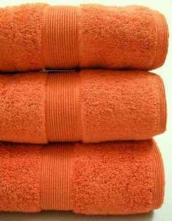Ręcznik Dokma 50x90 Gruby 580g POMARAŃCZ