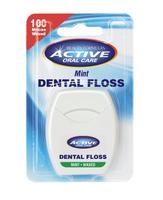 Dental Floss nić dentystyczna woskowana Mint 100 metrów