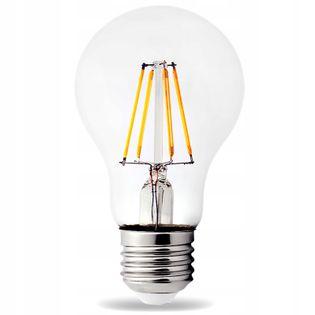Żarówka LED E27 Loft Loftowa 8W Edison Ciepła