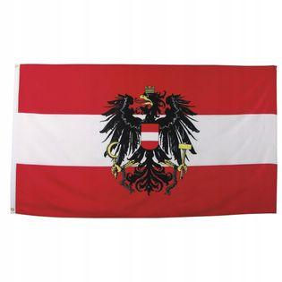 Flaga na maszt 90 x 150 cm Austria