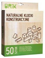 Drewniane klocki naturalne konstrukcyjne 50 sztuk