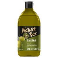 Nature  Box - Szampon Wzmacniający - Z Olejem Z Oliwek  - 385 Ml