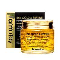 Farm Stay 24K Gold & Peptide Ampułka Do Twarzy Z 24-Karatowym Złotem I Peptydami 80Ml
