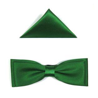Zielona mucha męska slim B30