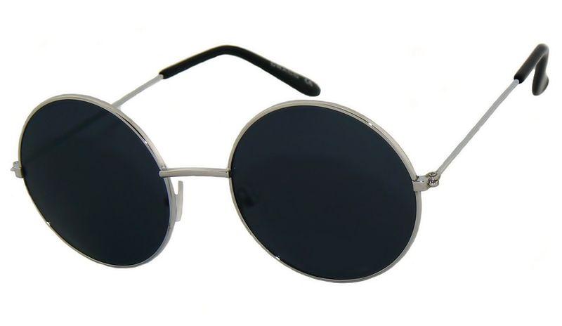 Okrągłe okulary lenonki lustrzane przeciwsłoneczne • Arena.pl
