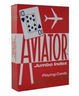 Karty Aviator Jumbo Index