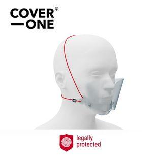Półprzyłbica – Przyłbica na nos i usta Cover One 1 sztuka