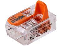 Złączka Compact Wago do puszek instalacyjnych (2 biegunów)
