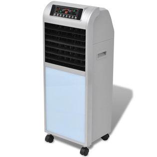 VidaXL Klimatyzator ewaporacyjny 120 W, 8 L, 385 m³/h, 37,5x35x94,5 cm