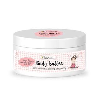 Nacomi Body Butter Masło Do Ciała Dla Kobiet W Ciąży 100Ml