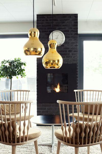 Lampa wisząca ZUCCA 23 złota zdjęcie 7