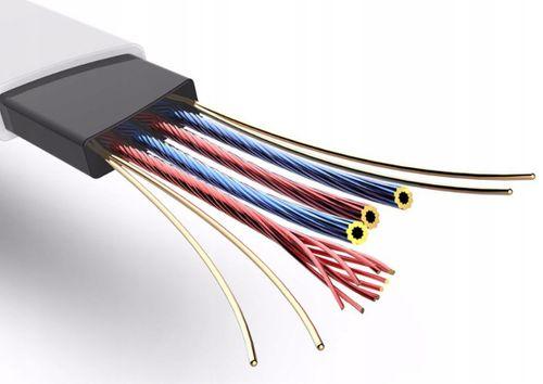 ROCK KABEL USB IPHONE WZMOCNIONY 5 6 7 8 X 10 Xs X na Arena.pl