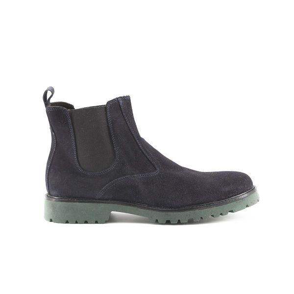 269446653639d Made in Italia skórzane buty męskie sztyblety niebieski 43 zdjęcie 12