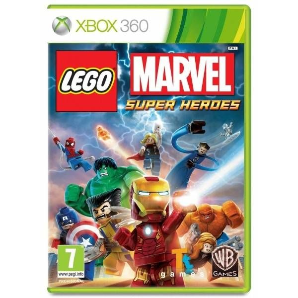 Lego Marvel Super Heroes PL XBOX 360 Nowa zdjęcie 2