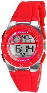 Xonix Zegarek sportowy damski, wielofunkcyjny, stoper, timer, alarm, wodoodporny 100 m
