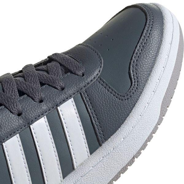 Buty dla dzieci adidas Hoops Mid 2.0 szare EE6709 36