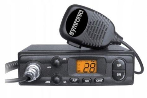 Cb Radio Symfonia I-300M ASQ AM/FM małe