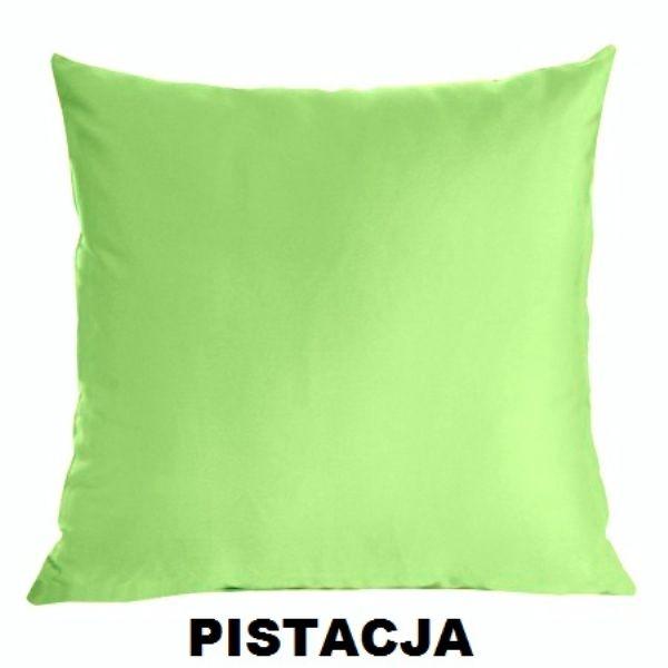 Poszewka Satynowa Jasiek 40x40 Suwak Pistacja Arenapl