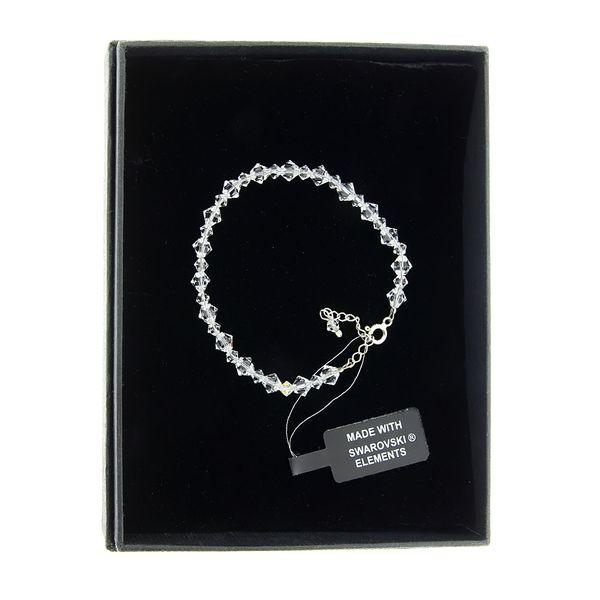 bransoletkasrebro elementy Swarovski® zdjęcie 2