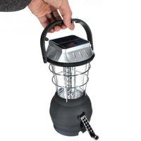 Lampa kempingowa LED na dynamo z akumulatorem