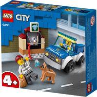KLOCKI LEGO CITY 60241 ODDZIAŁA POLICYJNY Z PSEM