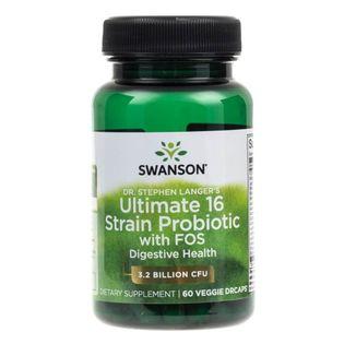 Swanson Ultimate Probiotyk (Probiotic) 16 szczepów - 60 kapsułek