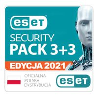 ESET Security Pack 3+3 / 3Lata
