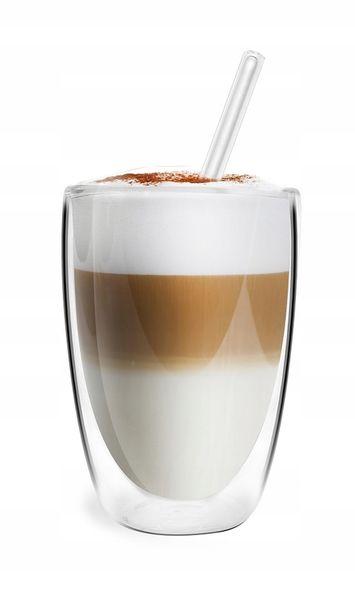 Szklanki Termiczne Podwójna Ścianka Kawa Herbata 350ml Vialli Design 6 zdjęcie 5