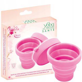 Pojemnik do sterylizacji kubeczka menstruacyjnego