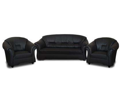 Zestaw wypoczynkowy mebli tapicerowanych ALEX 3+1+1  Kanapa + 2x Fotel