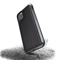 X-Doria Defense Lux - Etui aluminiowe iPhone 11 Pro Max (Drop test 3m) (Black Leather)