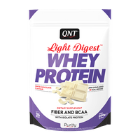 QNT - Light Digest Whey Protein - 500 g biała czekolada