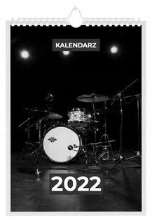 Kalendarz 2022 PERKUSJA 13 stron A4
