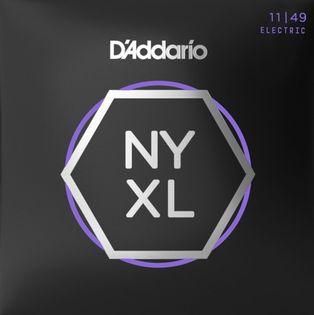 Struny do gitary elektrycznej Daddario NYXL1149