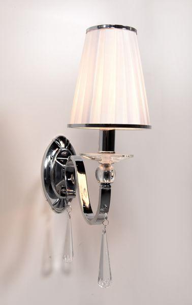 LAMPA ŚCIENNA KINKIET KRYSZTAŁOWY FEDERRICA W1 zdjęcie 2