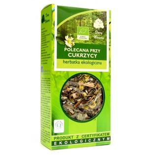 Herbata Polecana Przy Cukrzycy Eko 50G Dary Natury