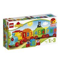 LEGO DUPLO - Pociąg z cyferkami 10847