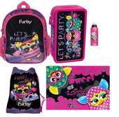 Plecak plecaczek  Furby+piórnik+worek 5w1