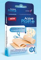 Plastry, Active Plast, Ekonomiczne, 0.5x6cm, 1 sztuka - Długi termin ważności!