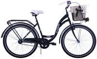 (K14) Rower miejski damski Kozbike 28 czarny 1s