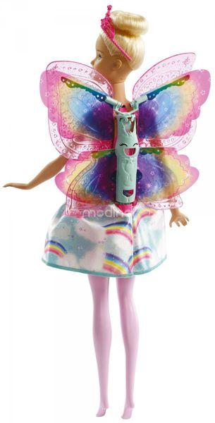 Lalka Barbie Wróżka Latające Skrzydełka Dreamtopia Mattel FRB08 zdjęcie 6