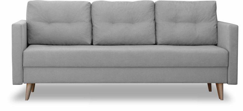 Kanapa rozkładana z funkcją spania, skandynawska sofa Säffle zdjęcie 5