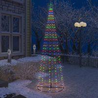 VidaXL Ozdoba świąteczna w kształcie choinki, 330 LED, 100x300 cm