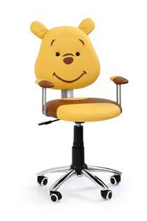 KUBUŚ HALMAR dziecięce krzesło obrotowe DZIECIĘCY fotel do biurka