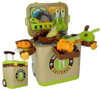 Mobilna Kuchnia Dla Dzieci w walizce na kółkach + akcesoria Y247