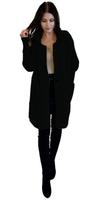 Płaszcz damski z Alpaki kurtka damska 16 kolorów