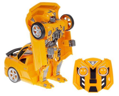 Transformer auto robot 2w1 Bumblebee zdalnie sterowany RC 2.4GHz U20 na Arena.pl